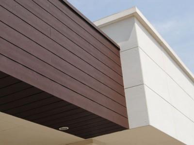 Acabados exteriores Centro Comercial Plaza Centella