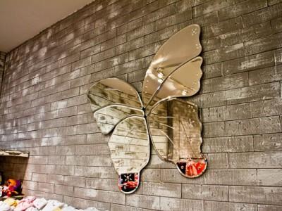 Espejo de mariposa en Baby Creysi Samara