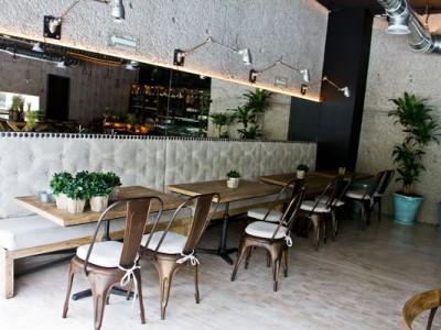 Gabinetes del restaurante del Museo Rufino Tamayo