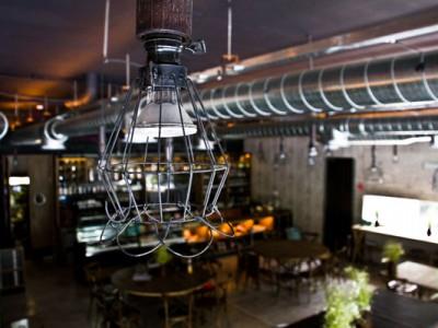 Lámpara en el restaurante del Museo Rufino Tamayo