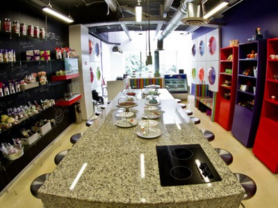 Vista completa de Bakery Bombon Polanco